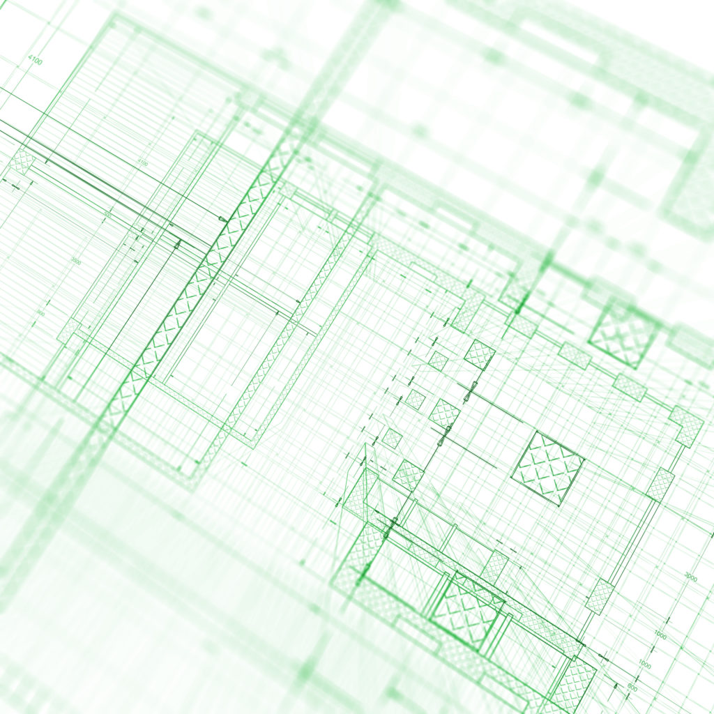 green blueprint large
